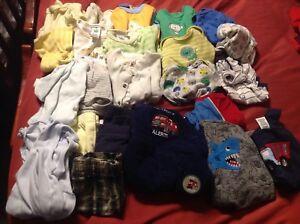 Lot de vêtement pour bébé garçon 0-3 mois