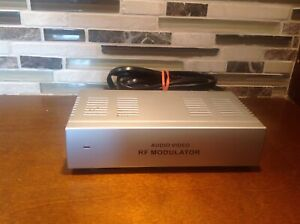 RF Modulator Video Converter Connect AV VCR DVD to Older TV