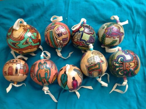 Hand Painted Southwestern Gourds