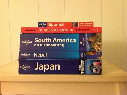 Lonely Planet travel books