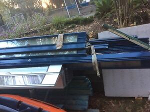 Shop front doors approx 5 off different lengths etc Warner Pine Rivers Area Preview