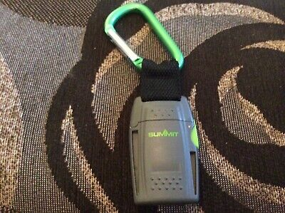 summit jet flame lighter for hiking camping outdoors windproof with clamp  for sale  Seaford