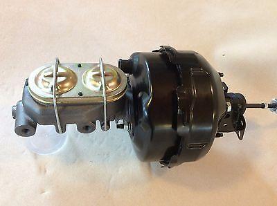 "Chevelle GTO Camaro 9"" dual diaphragm brake booster disc brake master cylinder"