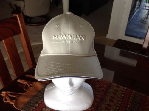 ~ HAWAIIAN AIRLINES Embroidered Cap Size: M/L ~