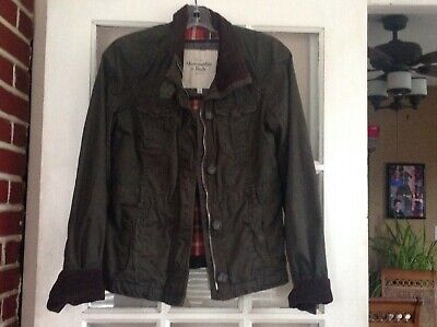 abercrombie & fitch military  Jacket-small