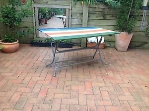 Retro folding outdoor table Maitland Maitland Area Preview
