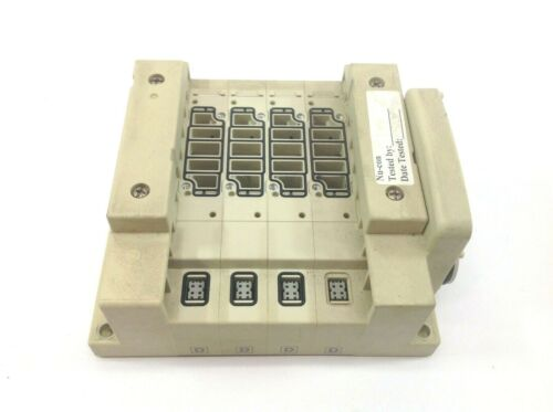 Nu-Con Automation Pneumatic 4 Port Valve Manifold