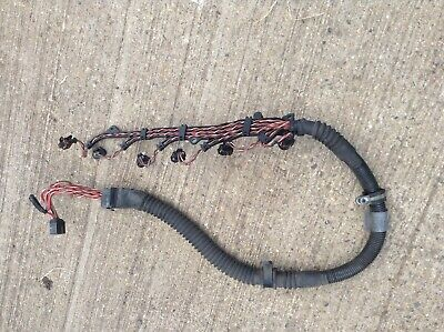 BMW E39 TOURING 530d injector wiring loom