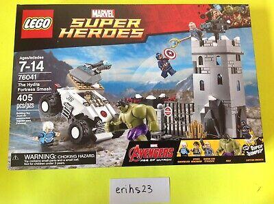 LEGO Marvel Set 76041 The Hydra Fortress Smash Avengers Age of Ultron Hulk NEW