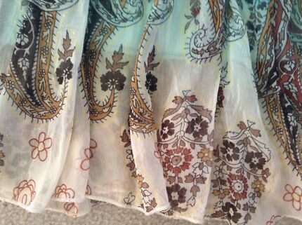 Retro Skirt Paisley Merimbula Bega Valley Preview