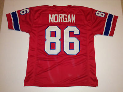 Unsigned Custom Sewn Stitched Stanley Morgan Red Jersey   M  L  Xl  2Xl