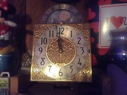 Herschede Electric 5-Tube Grandfather Clock, Complete Movement with Dial + Hands