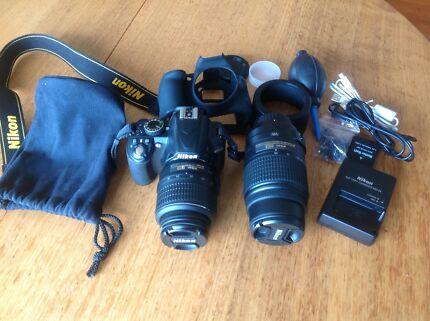 Nikon D3100 Sandy Bay Hobart City Preview