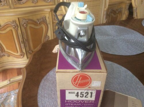 HOOVER MODEL 4521 STEAM/DRY SPRAY CLOTHES IRON IN ORIGINAL BOX WITH ALL PAPERS