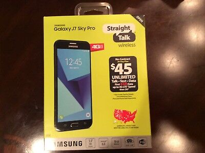 Samsung Galaxy J7 Sky Pro 16GB - Straight Talk Prepaid Smartphone Verizon Towers