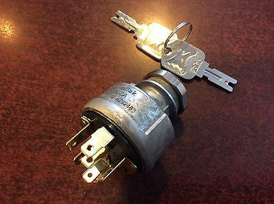 Forklift  Ignition Switch Hyster Clark Yale Part 379902 Or Hy379902