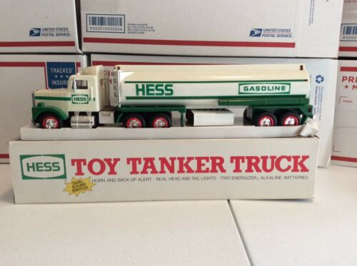 Hess 1990 Toy Tanker Truck with Original Box