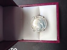 1919. 3 pence sovereign Stirling silver ring Girrawheen Wanneroo Area Preview
