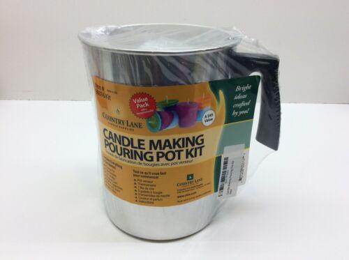 Country Lane Candle Making Pouring Pot Kit 90016