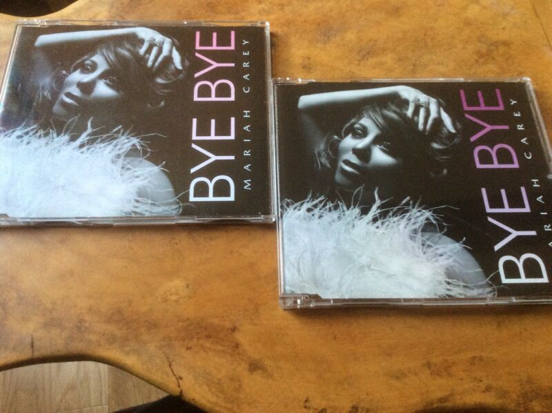 Mariah Carey - Bye Bye - 2008 UK 5trk Plus Video 2 X Cd Single Set. Rare.