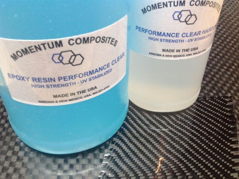Carbon Fiber Dupont Kevlar Cloth Epoxy Resin 6 oz.