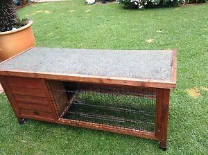 Bono Fido larger size wooden hutch Greystanes Parramatta Area Preview