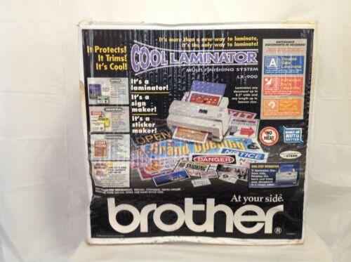 Brother Cool Laminator LX-900 Multi-Finishing System - New