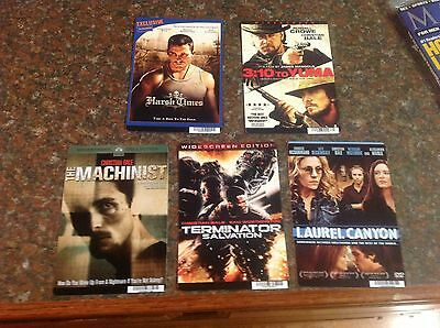 CHRISTIAN BALE 8 x 5.5 inch Backer cards MINI POSTERS terminator OOP