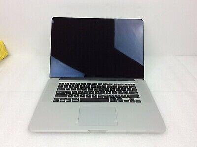 Apple MacBook Pro 15in Core i7 2.2GHz Retina 16GB 256GB SSD -MJLQ2LL/A Dents