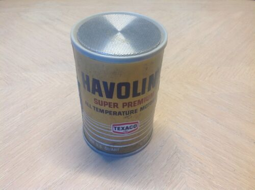 HAVOLINE Super Premium Motor oil TEXACO AM radio collectible man cave GARAGE