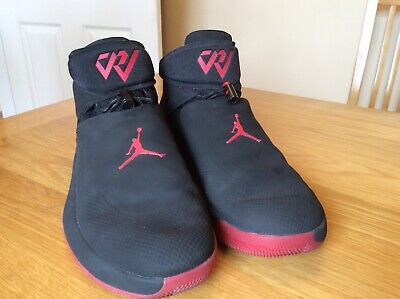 Nike Jordan Why Not Zer0.1 Russell Westbrook UK 11 US 12 Black/Red
