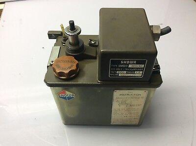 Showa Lubrication System, 220 V, SMD6 30G30, Dis Vol. 3-6 cc/cy, (2)  Warranty