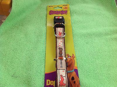 Scooby Doo Adjustable Dog Collar Medium, Dog Collar-Scooby Doo](Scooby Doo Collar)