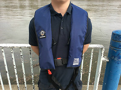 New Life jacket Crewsaver Freedom 150n  Automatic Sports Navy Lifejacket