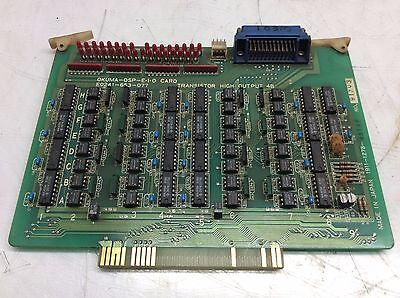 Okuma OSP E-I-O PC Board, # E0241-653-077, Used, WARRANTY