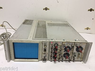 Tektronix D12 Dual Beam Oscilloscope 5a14n 5a18n 5b10a Vintage Test Equipment