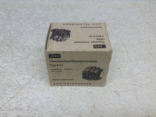 AEG Modicon B67 Overload Relay 22-32 Amp B 67 New