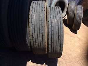 Truck Tyres - Regrooved 11R22.5. Noranda Bayswater Area Preview