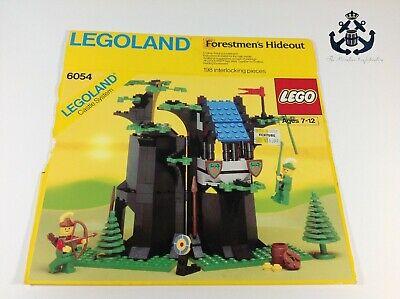 Lego Vintage Castle Forestmen's Hideout Box For Set 6054-1
