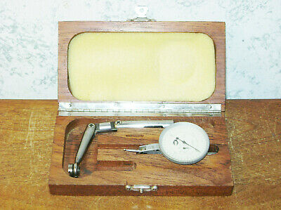 Moore Gooseneck-dog Leg Indicator Holder W Alina .0001 Inch Dial Indicator