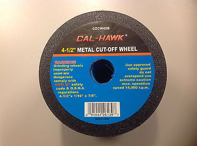 "50 pack 4-1/2"" Metal Cut-off Wheels"