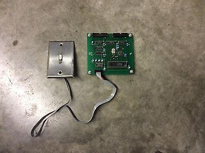 Hurco 4697 Circuit Control Board Serial Port CNC