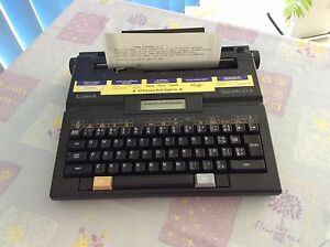 CANON PORTABLE ELECTRIC TYPEWRITER Adelaide CBD Adelaide City Preview