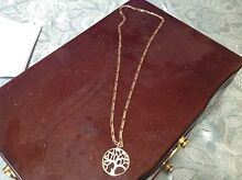 9ct Gold and Silver Tree of Life Necklace Morpeth Maitland Area Preview