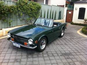 Triumph 1970 Tr6 Coupe Fuel Injected Manual With Overdrive Cars