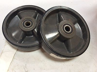 Mu90164-st Multiton Polly Steer Wheel Assembly Set Of Two 90164 Sk-4115028012j