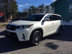 2017 Toyota Highlander SE - WOW ONLY 31KM - LEATHER - ALLOYS - S