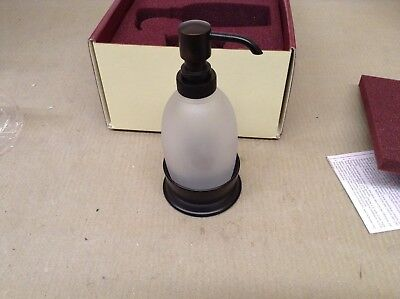 Baldwin Palisades 3606.112.D Vanity Soap Dispenser, Venetian Bronze