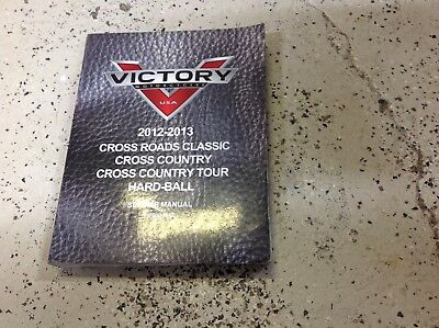 2012 2013 Victory Cross Roads Country Tour Hard Ball Motorcycle Service Manual