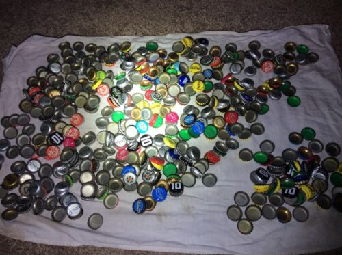 LOT (474) beer caps for crafting